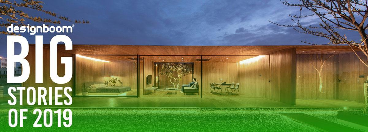 10 پروژه معماری آرامش بخش (خصوصی) در سال 2019