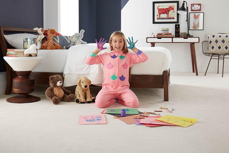 انتخاب موکت در طراحی اتاق کودک